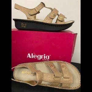 New In Box   Alegria Sandals.  Sz41